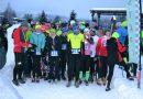 Bežci z Dobšinej na zimnej bežeckej sérii