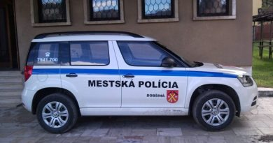 Príslušníci Mestskej polície v Dobšinej riešili v júni
