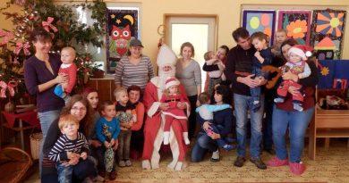 Mikuláš navštívil aj centrum voľného času a komunitné centrum
