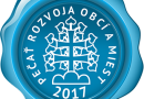 Dobšiná získala Pečať Rozvoja obcí a miest aj za rok 2017!