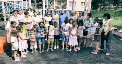 Mesto Dobšiná vybudovalo nové detské ihrisko