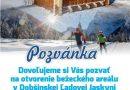 Pozvánka na otvorenie areálu bežeckého lyžovania v Dobšinskej Ľadovej Jaskyni