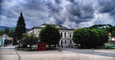 Pohľad do minulosti: Budova Okresného úradu v Dobšinej