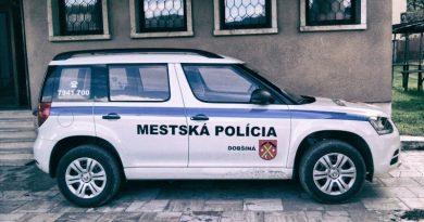 Mestská polícia v Dobšinej riešila v máji aj toto